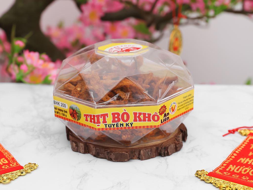 Thịt bò khô Tuyền Ký hộp 150g 3