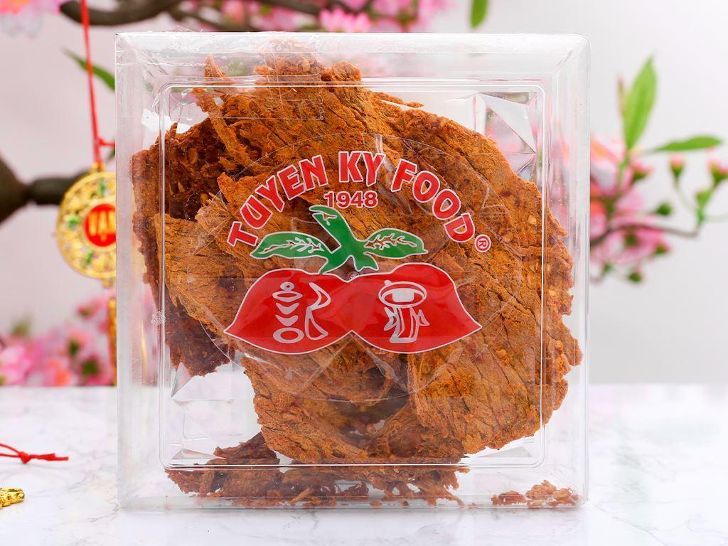 Thịt bò khô cà ri Tuyền Ký hộp 100g 1