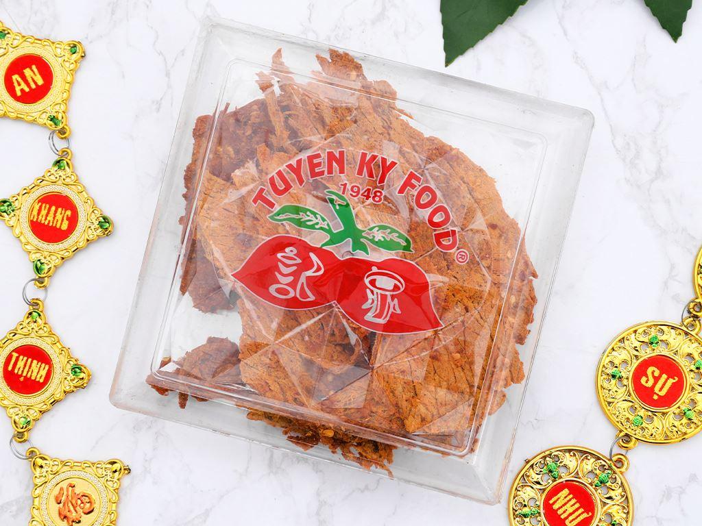 Thịt bò khô cà ri Tuyền Ký hộp 100g 2