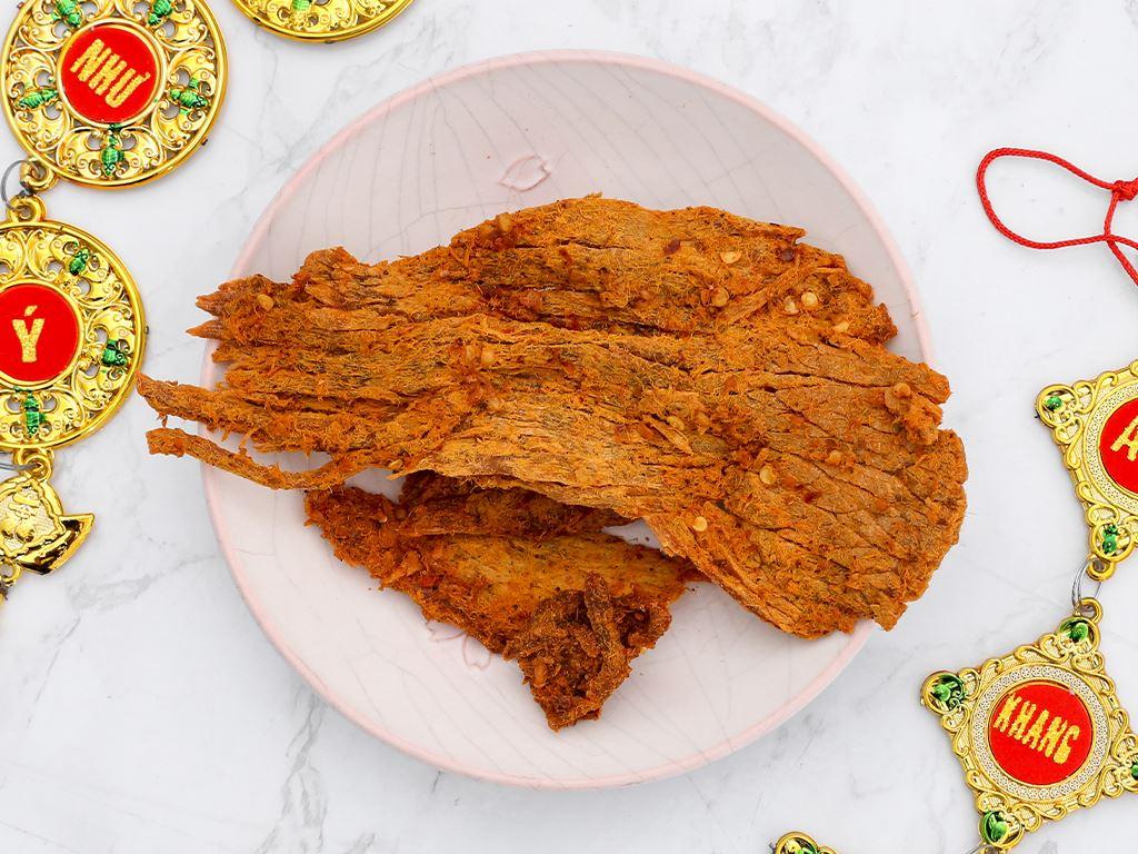 Thịt bò khô cà ri Tuyền Ký hộp 100g 4