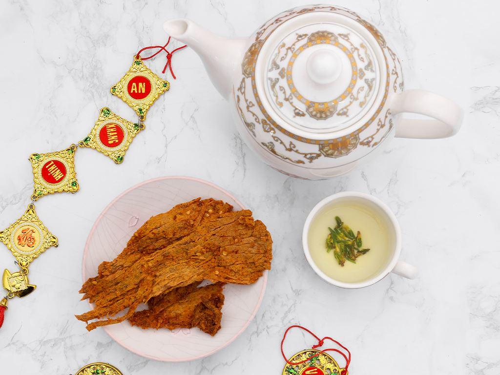 Thịt bò khô cà ri Tuyền Ký hộp 100g 6