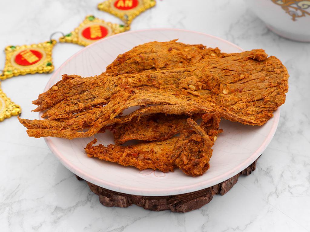 Thịt bò khô cà ri Tuyền Ký hộp 100g 7