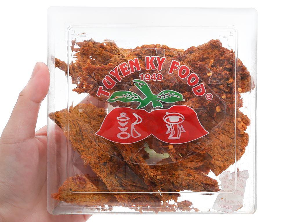 Thịt bò khô cà ri Tuyền Ký hộp 100g 8