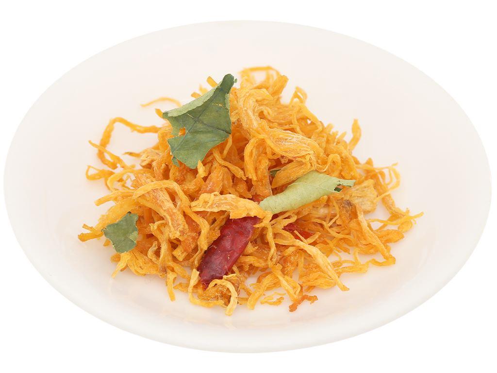 Khô gà lá chanh Lisa Food túi 100g 5