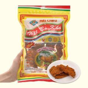 Thịt bò khô Hải Châu gói 100g