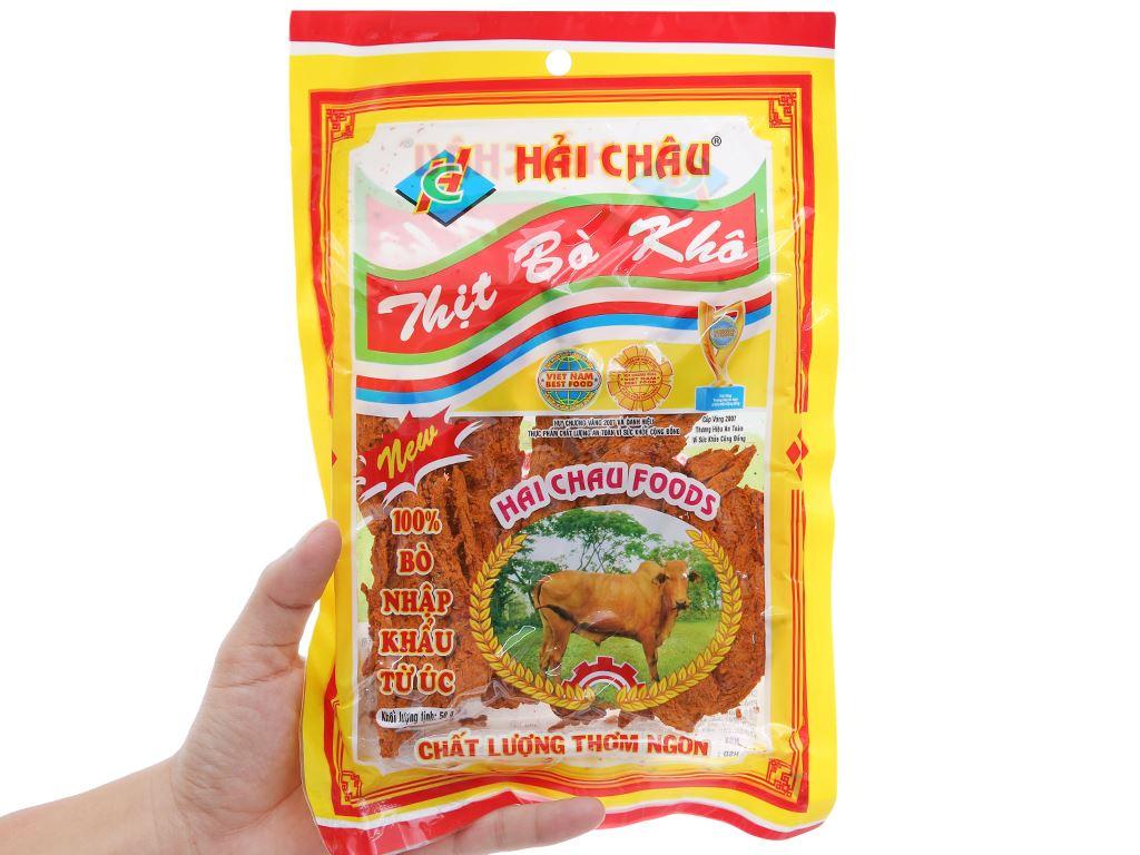 Thịt bò khô Hải Châu gói 50g 3
