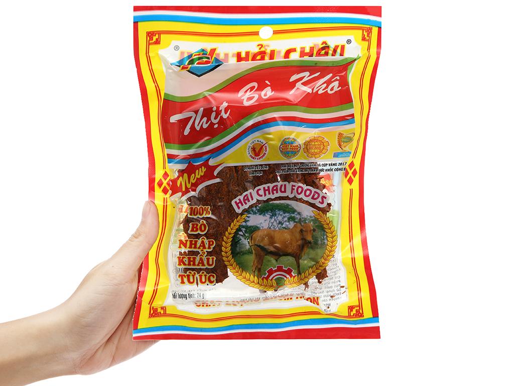 Thịt bò khô Hải Châu gói 24g 3