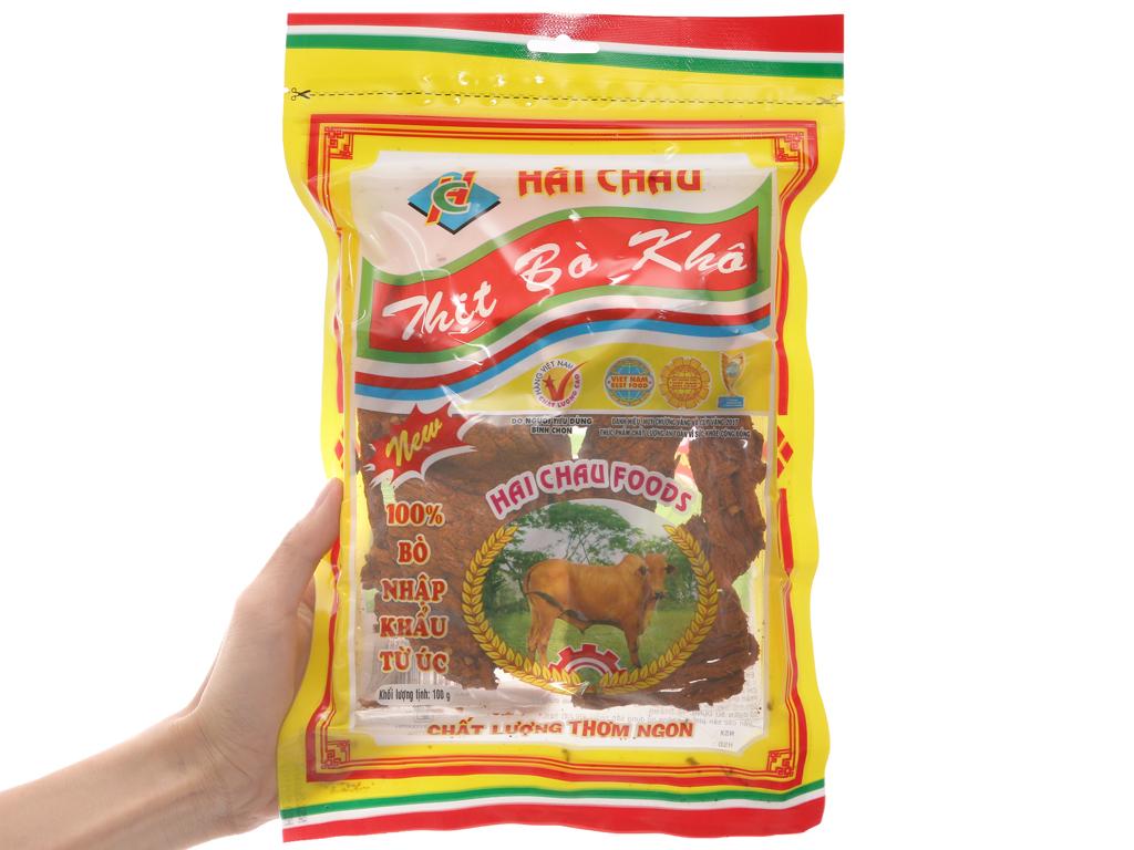 Thịt bò khô Hải Châu gói 100g 3