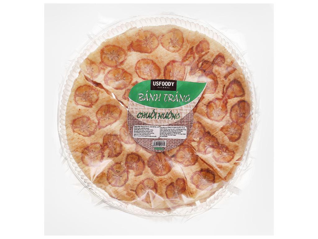 Bánh tráng chuối nướng USFOOD gói 80g 1