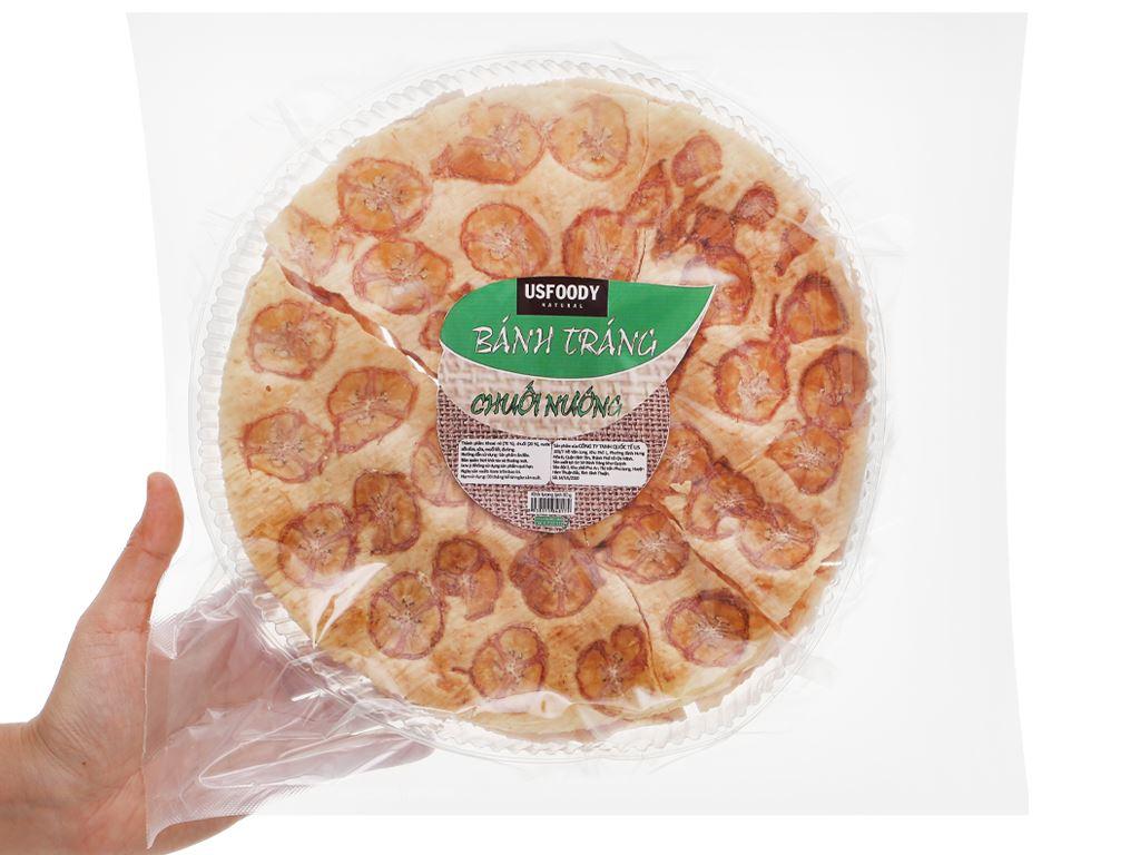 Bánh tráng chuối nướng USFOOD gói 80g 4