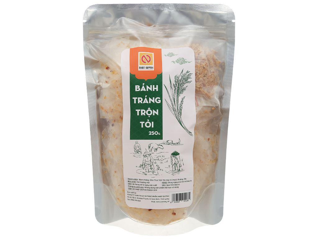 Bánh tráng trộn tỏi Nhật Quỳnh gói 250g 1