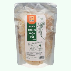 Bánh tráng trộn tỏi Nhật Quỳnh gói 250g