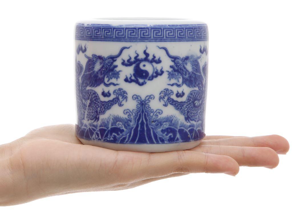 Lư hương sứ Bát Tràng 8cm 5