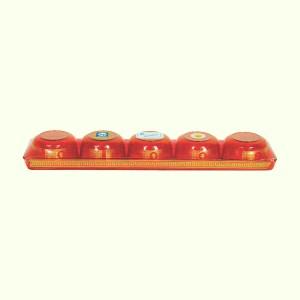 Lô 5 chung cúng nhựa Hofaco 25.5cm HPG201