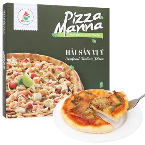 Pizza Manna hải sản vị Ý HT Food 120g