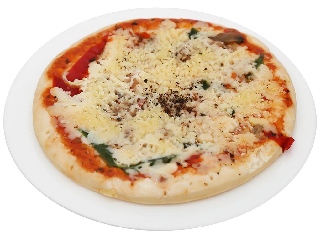 Pizza Manna hải sản vị Ý HT Food 120g 7