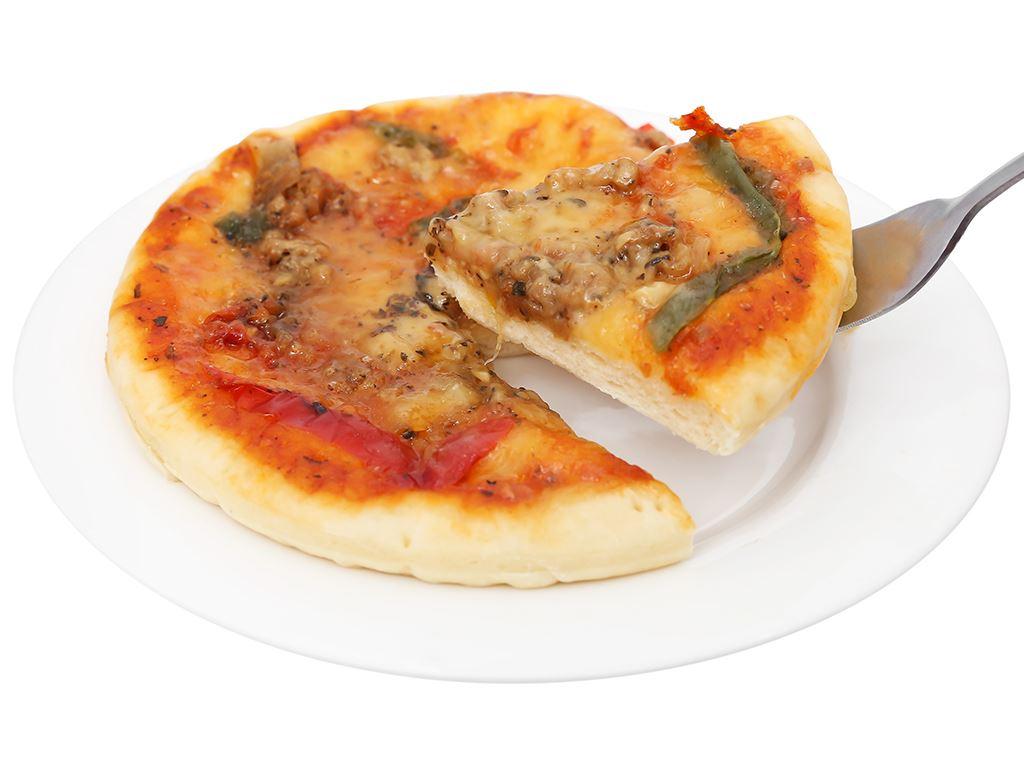 Pizza Manna hải sản vị Ý HT Food 120g 8