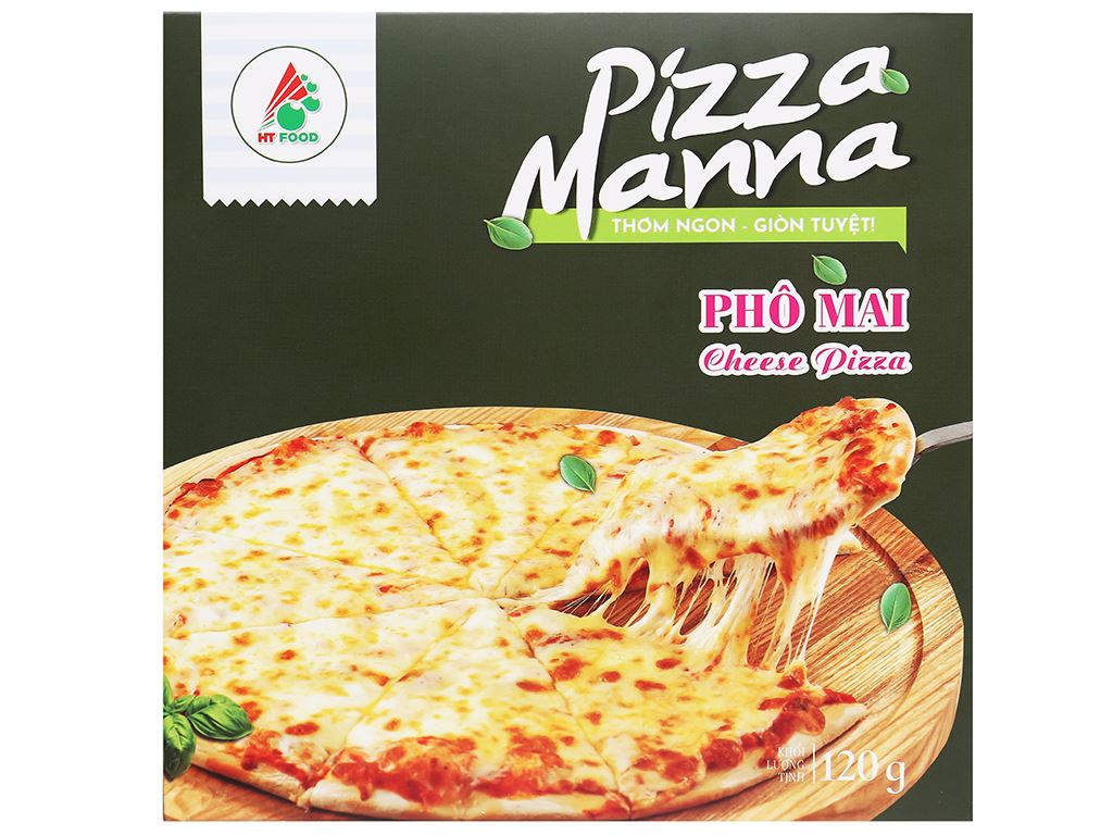 Pizza Manna phô mai HT Food 120g 2