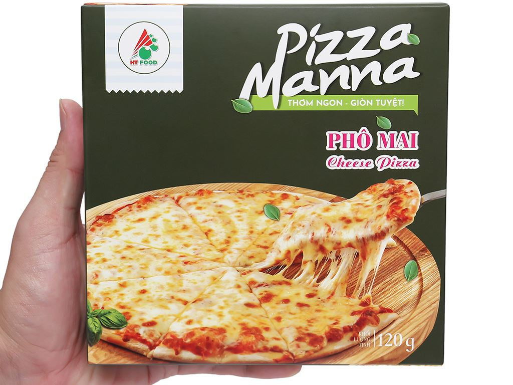 Pizza Manna phô mai HT Food 120g 6