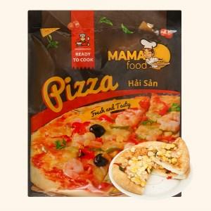 Pizza hải sản Mama Food 120g