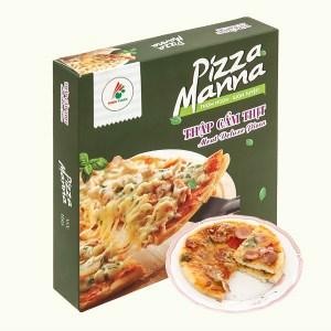 Pizza thập cẩm thịt Manna 120g