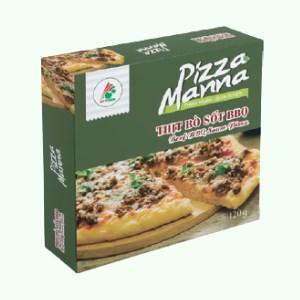 Pizza thịt bò sốt BBQ Manna 120g