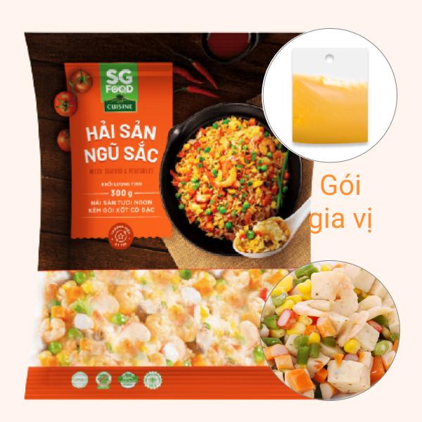 Hải sản ngũ sắc SG Food gói 300g