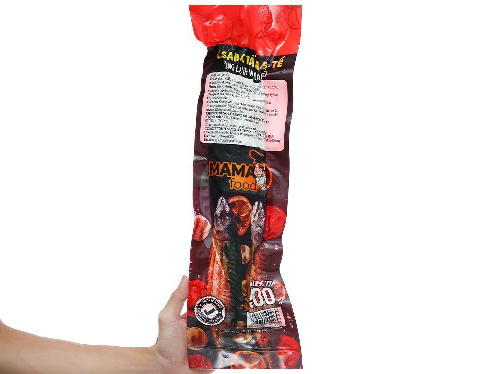 Cá saba tẩm sa tế đông lạnh Mama Food gói 500g 3