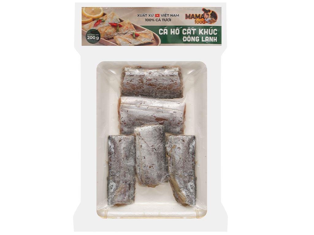 Cá hố cắt khúc đông lạnh Mama Food khay 200g 1