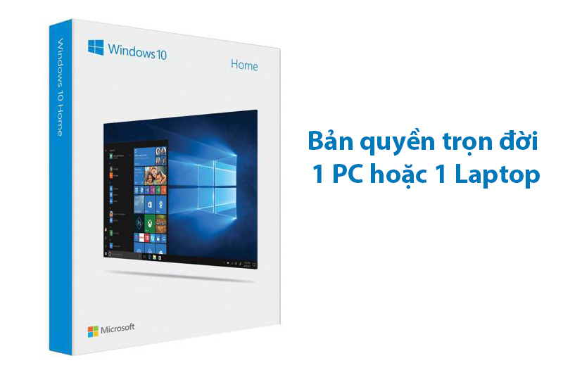 Windows 10 Home 32-bit/64-bit All Languages (KW9-00265) - Bản quyền trọn đời