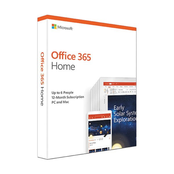 Office 365 Home 32/64bit 1 năm 6 user Win/Mac