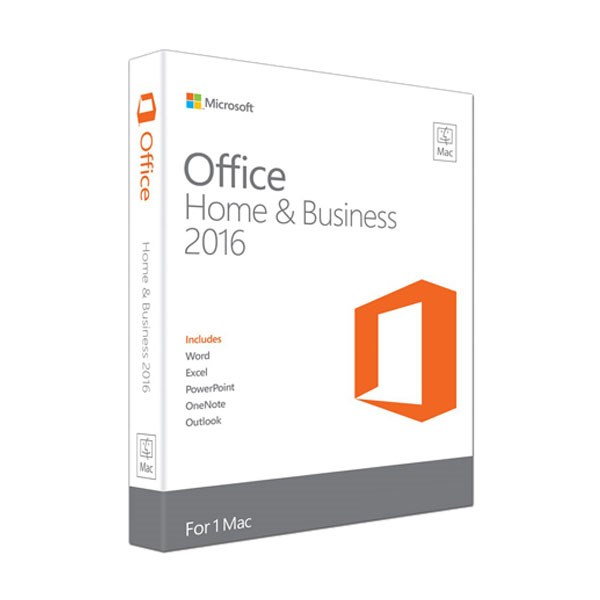 Office Home & Business 2016 for Mac vĩnh viễn 1 máy All languages
