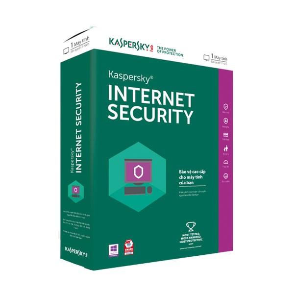Kaspersky Internet Security - 1 PC