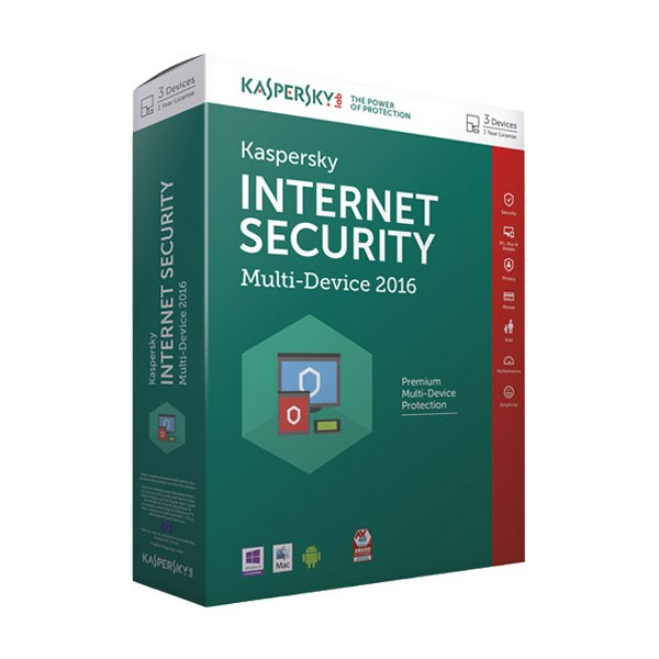 Kaspersky Internet Security - 3 PC
