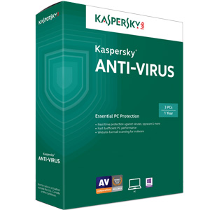 Kaspersky Anti-Virus - 3 PC