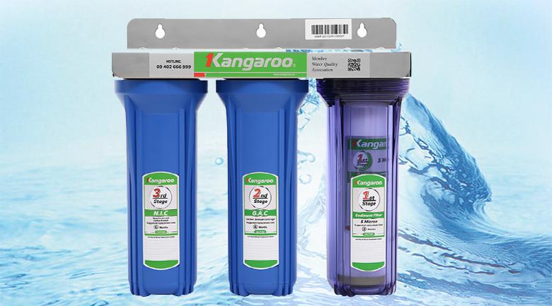 3 cốc lọc - Bộ cốc lọc đầu nguồn Kangaroo KG01G3