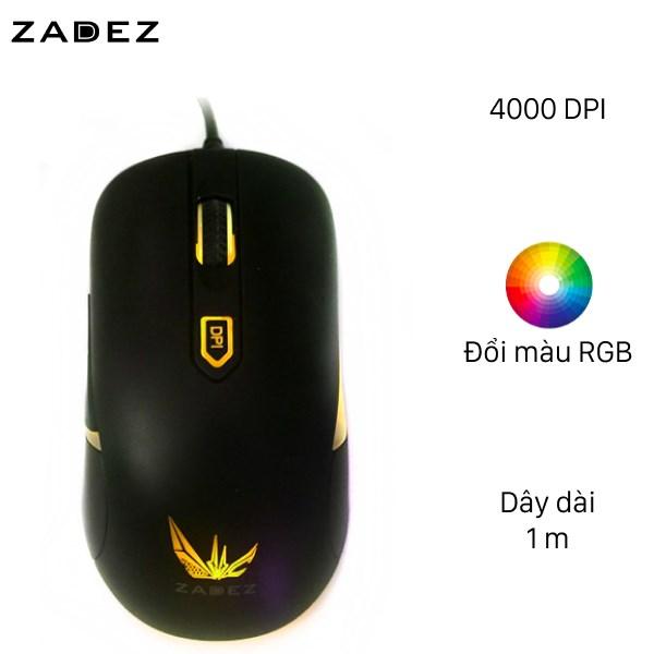 Chuột Gaming Zadez GT - 613M