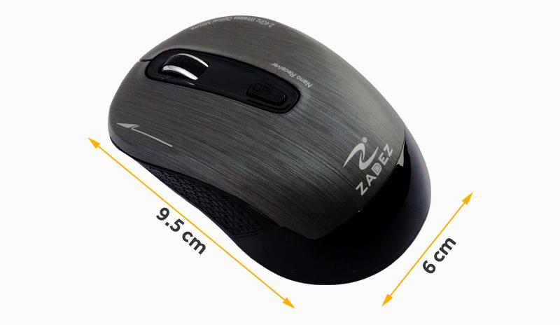 Wireless Mouse - កណ្ដុរកុំព្យូទ័រឥតខ្សែ Zadez M325