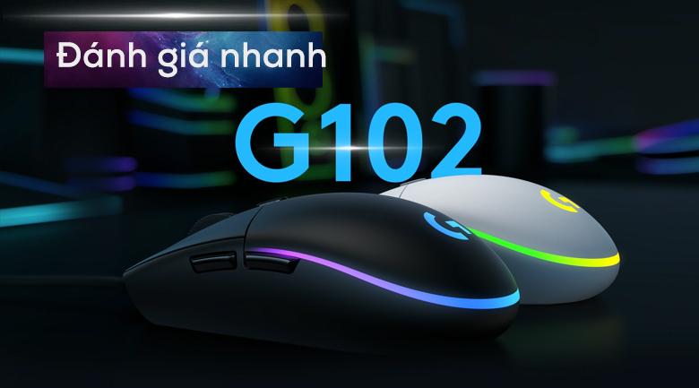 Chuột Có Dây Gaming Logitech G102