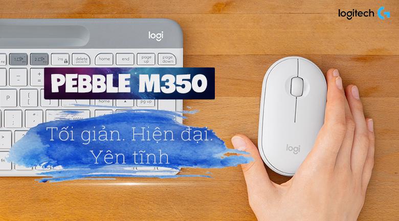 Chuột Không Dây Bluetooth Logitech Pebble M350
