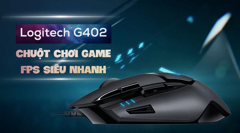 Chuột Có Dây Gaming Logitech G402 Hyperion Fury