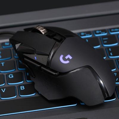 Chuột Gaming Logitech G502 Hero Đen