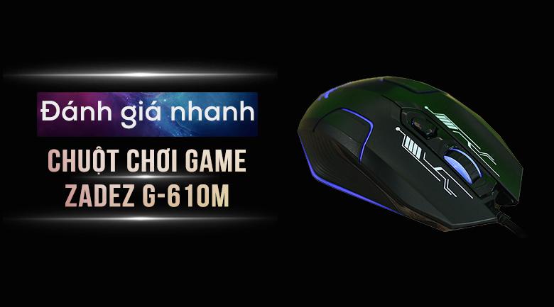 Chuột Có Dây Gaming Zadez G-610M