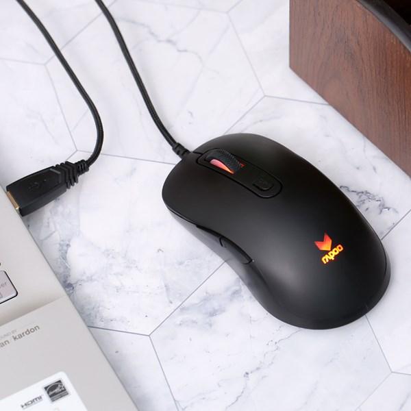Chuột Gaming Rapoo V16 Đen