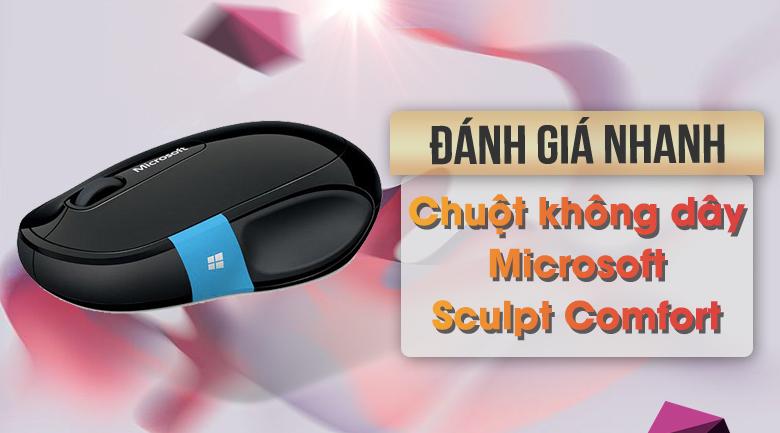 Chuột Bluetooth Microsoft Sculpt Comfort