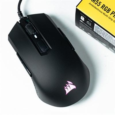 Chuột Gaming Corsair M55 RGB Pro Đen