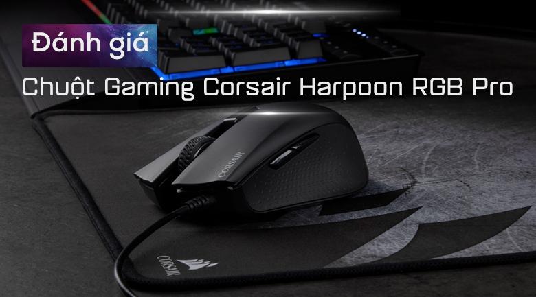 Chuột Có Dây Gaming Corsair Harpoon RGB Pro FBS/MOBA
