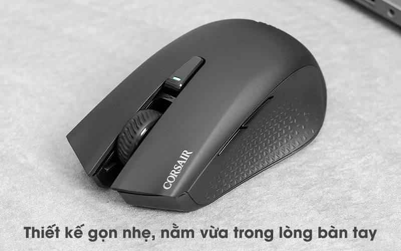 Chuột Bluetooth Gaming Corsair Harpoon RGB Đen