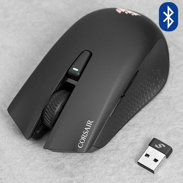Chuột Bluetooth Gaming Corsair Harpoon RGB Đen