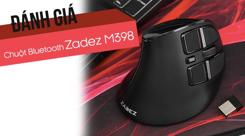 Chuột Không Dây Bluetooth Zadez M398